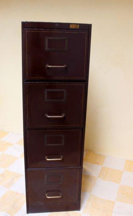 Ancien meuble métallique Ronéo -> Meubles Metalliques