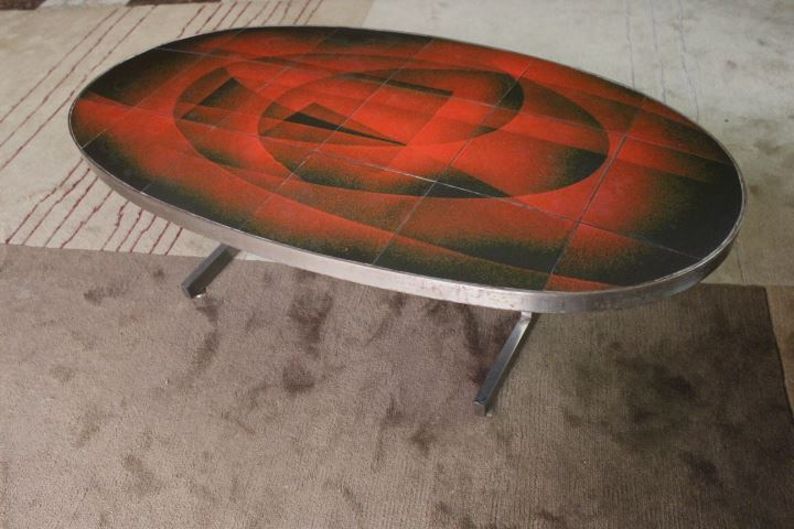 Table basse Vallauris vintage