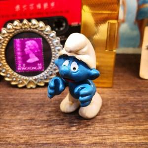 Smurf Figure Hong Kong
