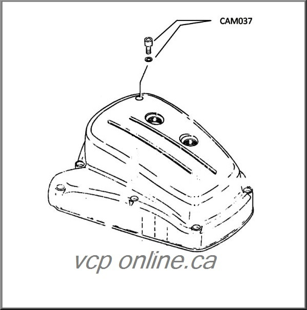 CAM037 Oil level plug and gasket ALL 125cc, 175cc, 200cc