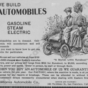 1902 California Advertisement