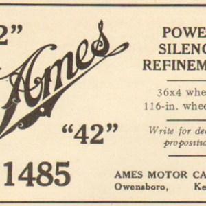1904 Ames Advertisement