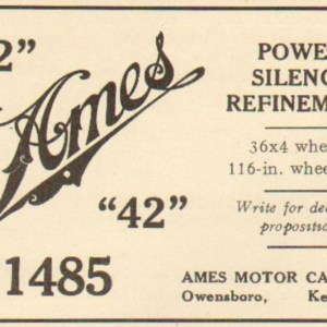 1904 Ames Advertisement