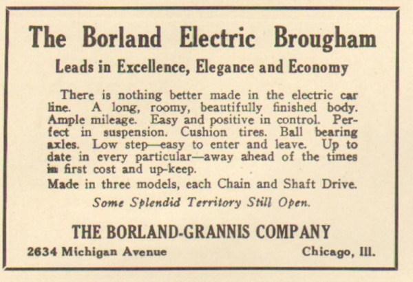 11/12/1904 Borland-Grannis Advertisement