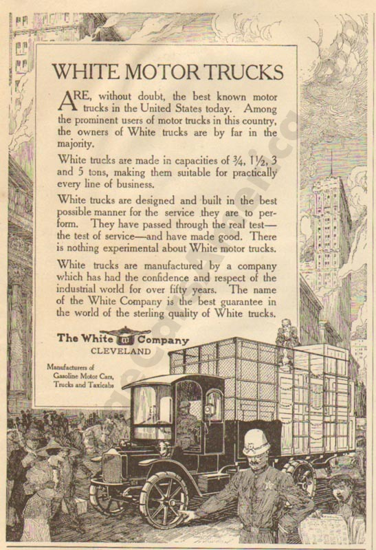 1912 White Advertisement #2