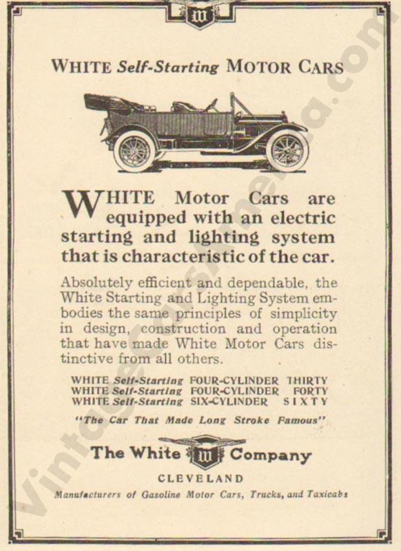 1912 White Advertisement #4