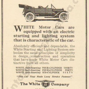 1912 White Advertisement #4