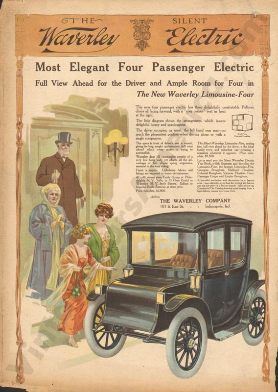 1912 Waverly Electric Advertisement