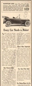 1913 Winton Advertisement #2
