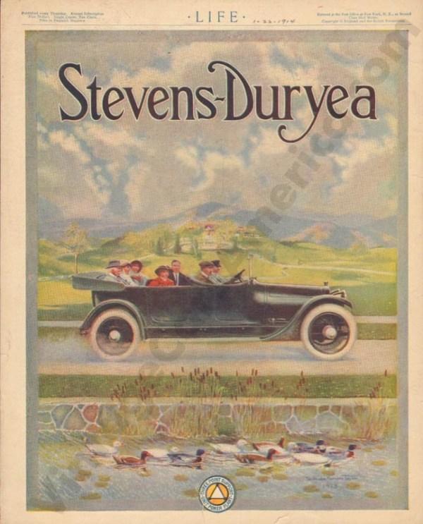 1/22/1914 Stevens Duryea Advertisement