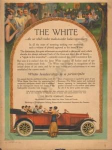 1915 White Advertisement #1