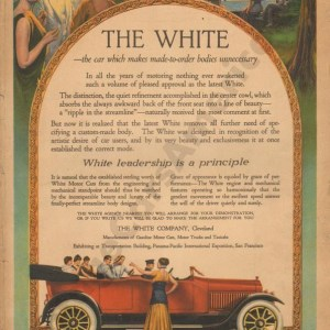 1915 White Advertisement #1
