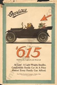 1915 Overland Advertisement
