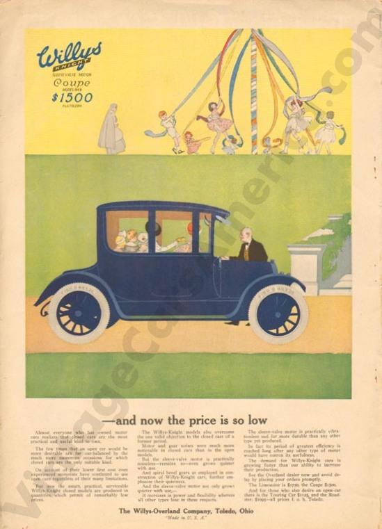 1916 Overland Advertisement #3