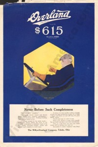 1916 Overland Advertisement #6