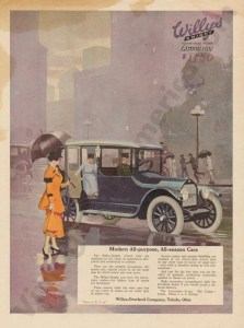 1916 Overland Advertisement #8