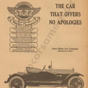 4/5/1917 Stutz Advertisement