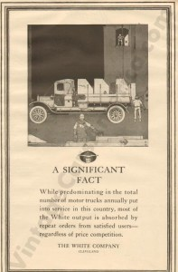 1917 White Advertisement #2