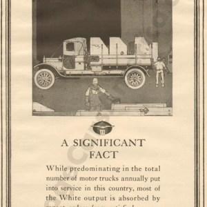 1917 White Advertisement #2