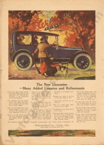 1917 Overland Advertisement #1