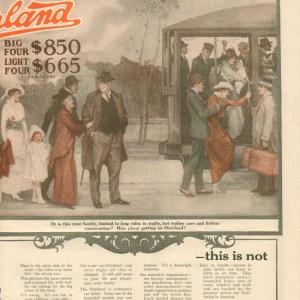1917 Overland Advertisement #3