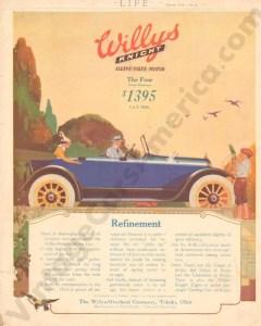 1917 Overland Advertisement #5