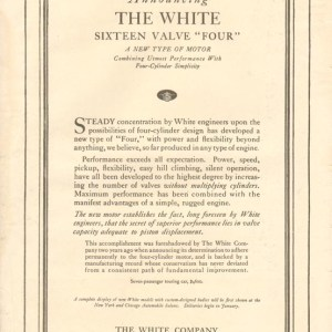 1917 White Advertisement #1