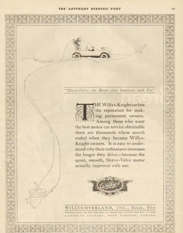 1919 Overland Advertisement #4