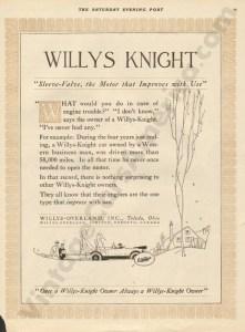 1919 Overland Advertisement #5