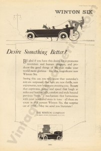 1919 Winton Advertisement #1