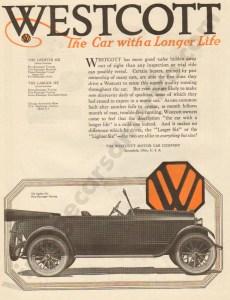 1/31/1920 Westcott Advertisement