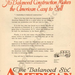 1920 American Advertisement #1