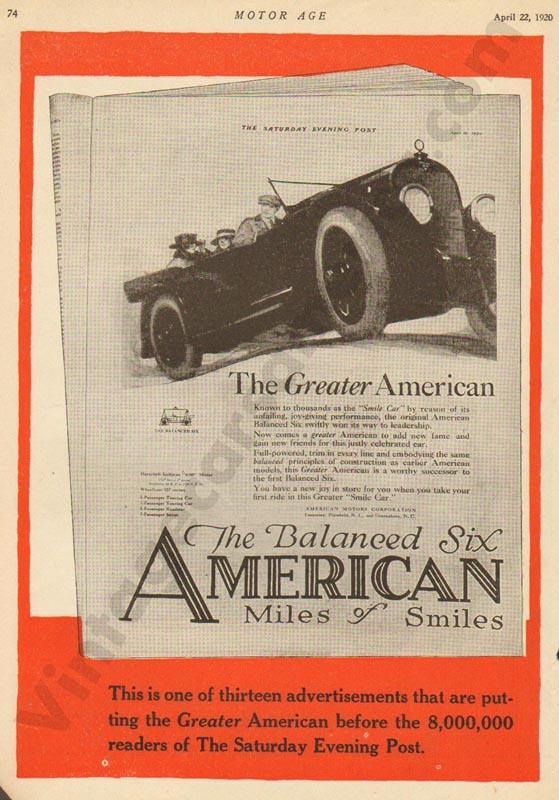 1920 American Advertisement #2