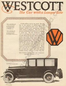 12/6/1919 Westcott Advertisement