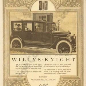 1920 Overland Advertisement #2