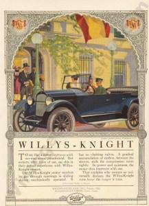 1920 Overland Advertisement #1