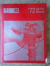 1972 Pontiac Shop Manual