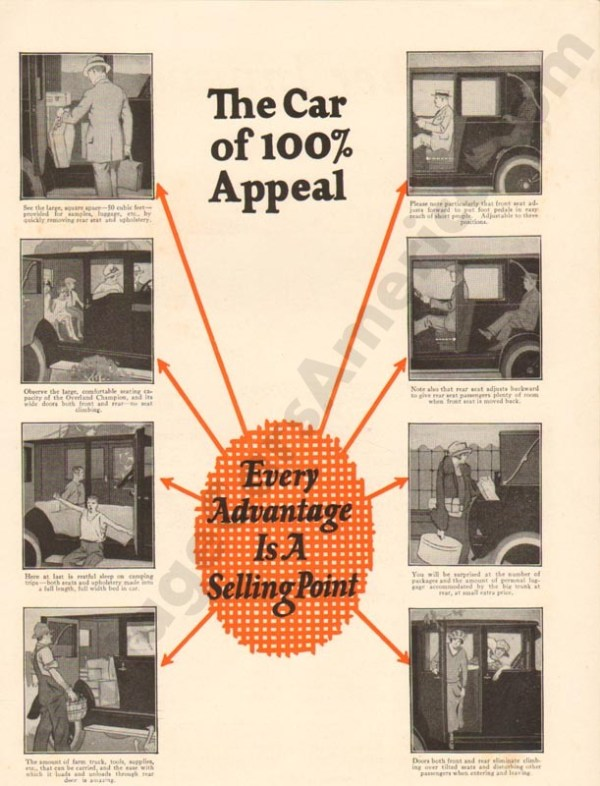 1924 Overland Advertisement #3