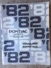 1982 Pontiac Shop Manual