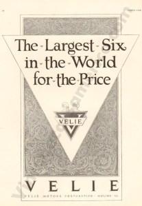 1924 Velie Advertisement