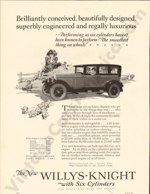 1925 Overland Advertisement #1