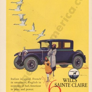 1925 Wills Saint Claire Advertisement #1