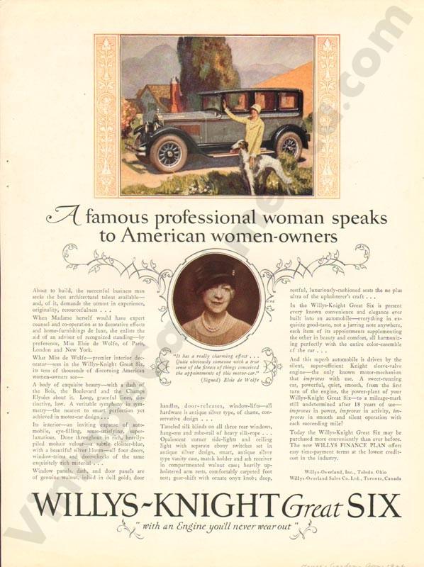 1926 Overland Advertisement #7