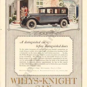 1926 Overland Advertisement #1