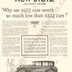 1926 Stutz Advertisement #1