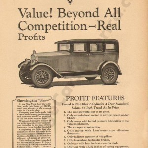 2/5/1927 Velie Advertisement