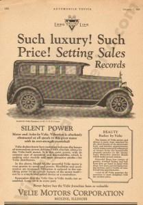 2/5/1927 Velie Advertisement #2
