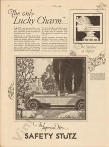 4/23/1927 Stutz Advertisement