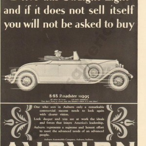 1927 Auburn Advertisement #13