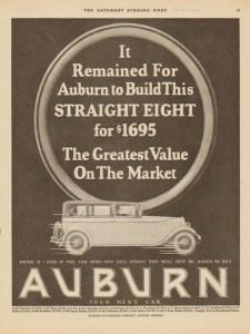 1927 Auburn Advertisement #16